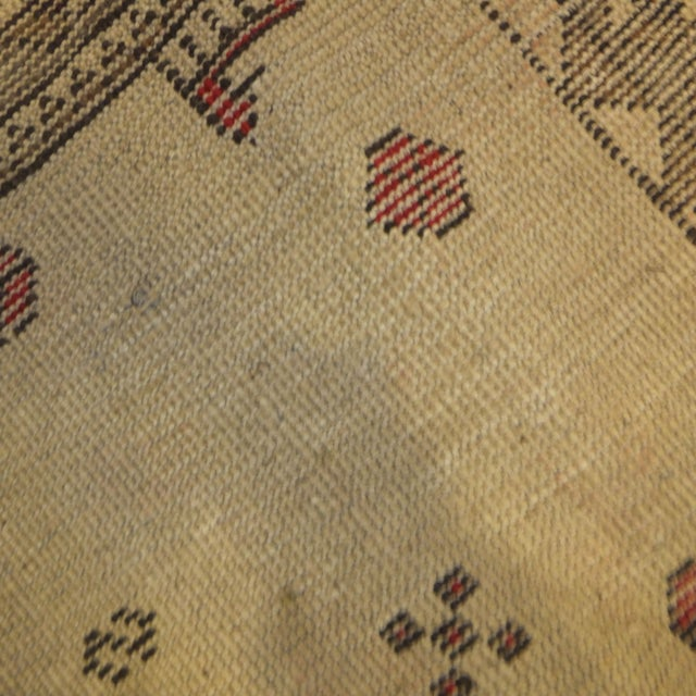 """African Persian Gabeh Tribal Rug - 7'5"""" x 5'7"""" For Sale - Image 3 of 5"""