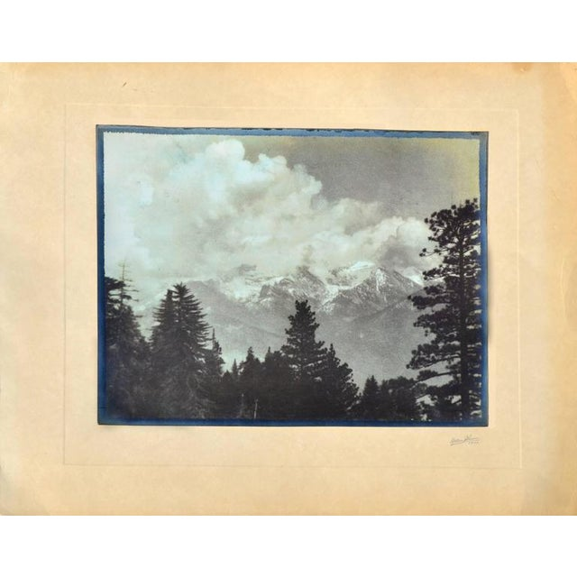 Paper Impression of the High Sierras For Sale - Image 7 of 7