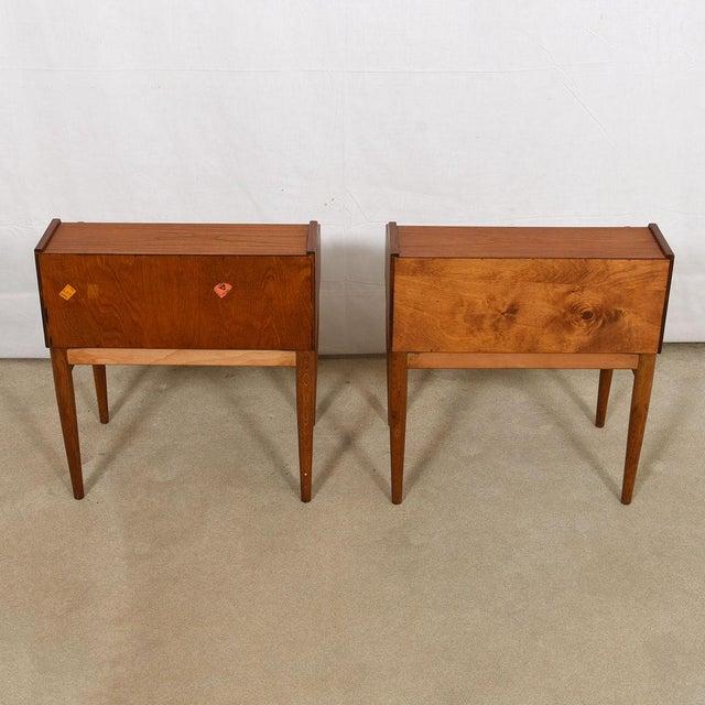 Arne Hovmand-Olsen for Mogens Kold Teak Nightstands - a Pair For Sale In Washington DC - Image 6 of 8