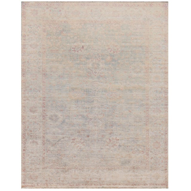 Turkish Mansour Superb Quality Oushak Rug - 8' X 10' For Sale - Image 3 of 3