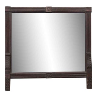 Handmade Wooden Mantel Mirror