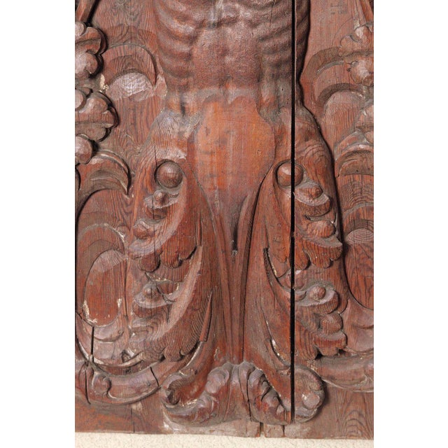 17th Century 17th Century Spanish Wooden Door For Sale - Image 5 of 12