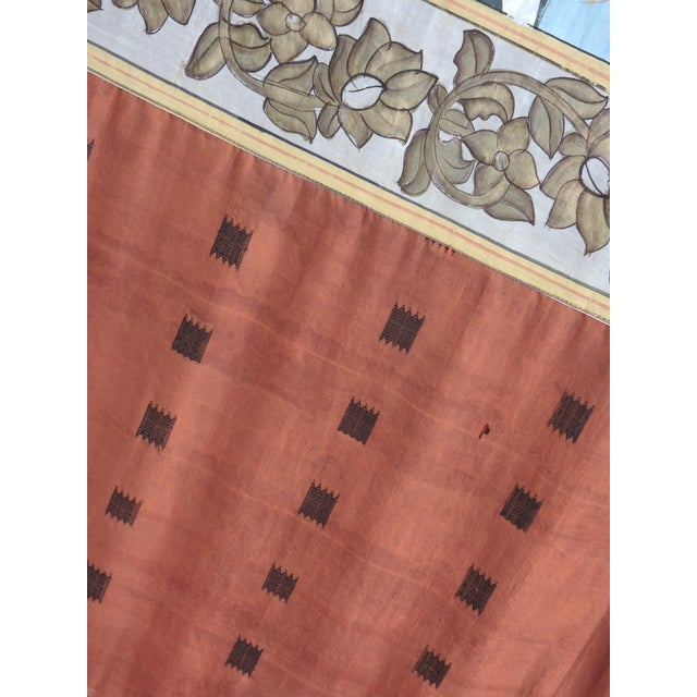 Fabric Fine Ottoman Empire Style Silk Wall Hanging, the Ruler's Residence For Sale - Image 7 of 7