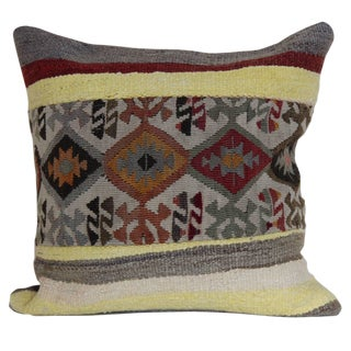 Turkish Handmade Decorative Pillow Cover For Sale