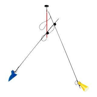 Vittoriano Viganò Special Mondrian Edition 'Vv Suspension' Lamp For Sale