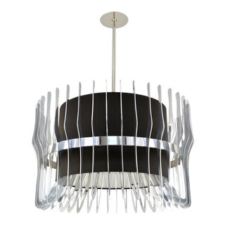 Phoenix Day Forma Modern Polished Nickel Pendant For Sale