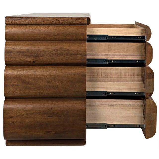 Black Corinth Sideboard, Dark Walnut For Sale - Image 8 of 11