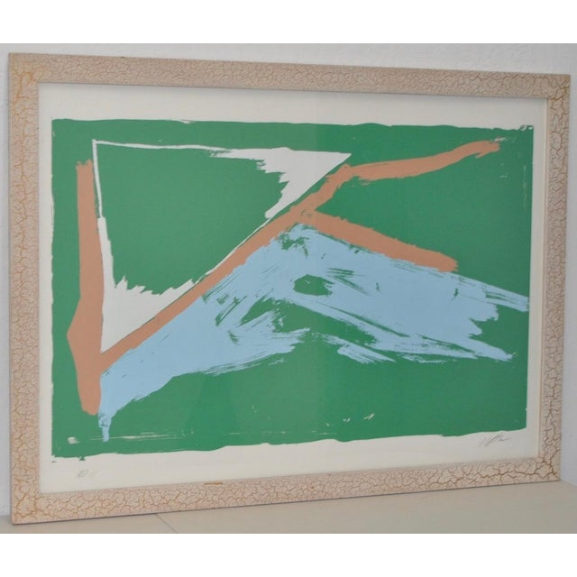 Drawing/Sketching Materials Larry Poons Artist Proof Abstract Lithograph C.1970s For Sale - Image 7 of 7