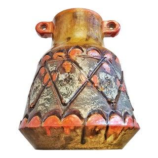 Unusual Alvino Bagni 'Autumn Sunset' Vase (Italy) For Sale