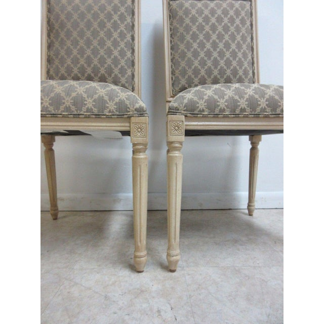 Paint Ethan Allen Swedish Side Chairs - A Pair For Sale - Image 7 of 11