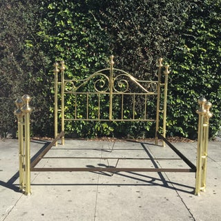 California King Size Brass Bed Preview