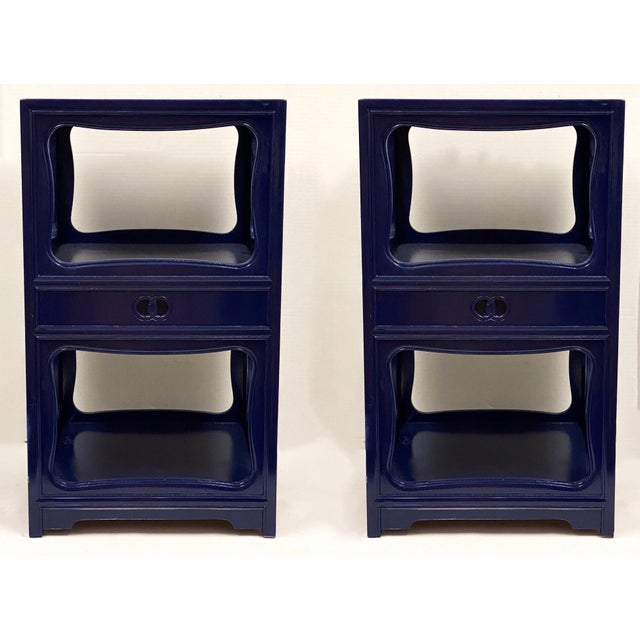 Baker Furniture Company Pair of Michael Taylor for Baker Furniture Side Tables For Sale - Image 4 of 8