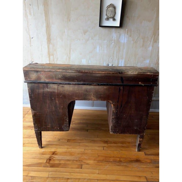 Rustic Tuscan Office Desk For Sale - Image 9 of 11