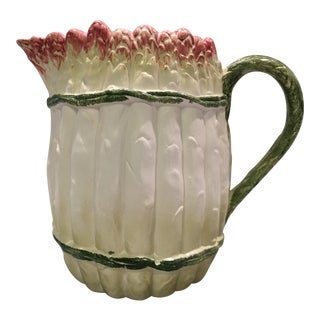 20th Century Italian Asparagus Pitcher