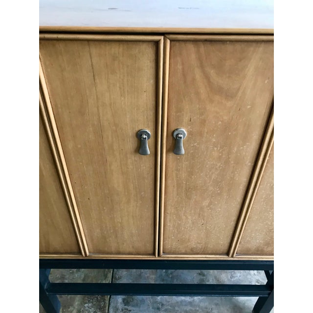Wood 1960s Mid-Century Bar Sanford Furniture Co Permacraft Cabinet For Sale - Image 7 of 8