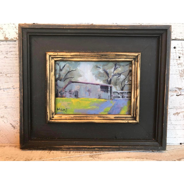 """Contemporary """"Amador County Barn"""" Oil Painting For Sale - Image 3 of 7"""