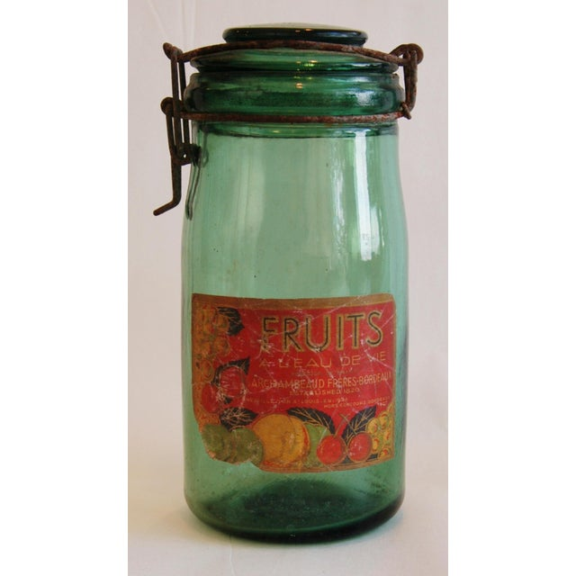 French 1930s Canning Preserve Jars - Set of 3 - Image 5 of 8