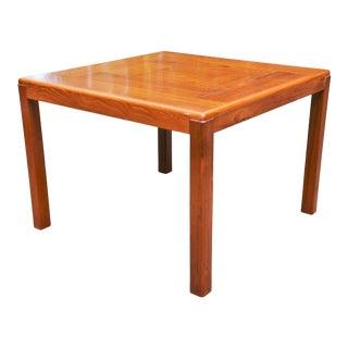 1960s Danish Modern Vejle Stole-Og Mobelfabrik Teak End Table For Sale