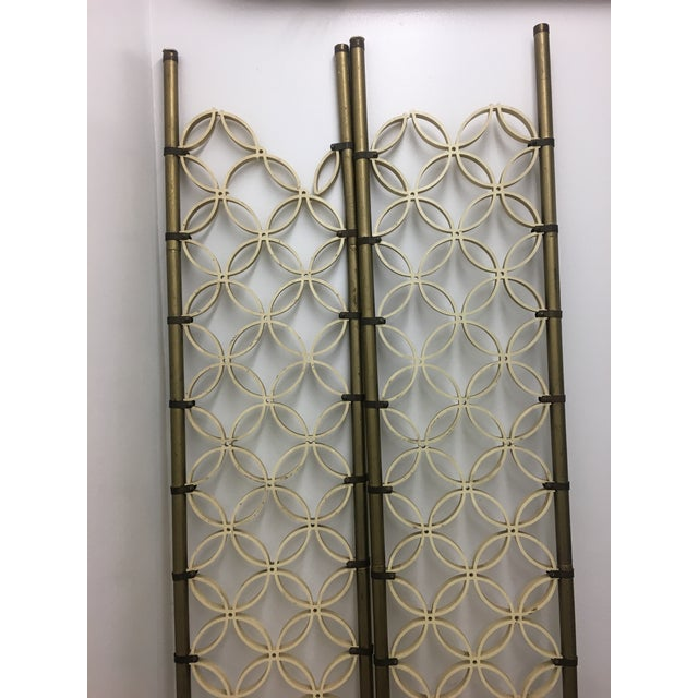 1960s Mid-Century Modern Room Divider Panels - a Pair For Sale - Image 5 of 13