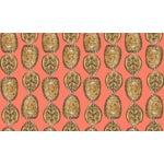 Turtle Shell Salmon Linen Cotton Fabric, 3 Yards