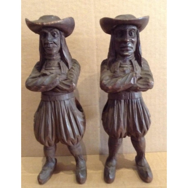 Primitive Antique J. Martin Rennes Candle and Matchstick Holders - A Pair For Sale - Image 3 of 10