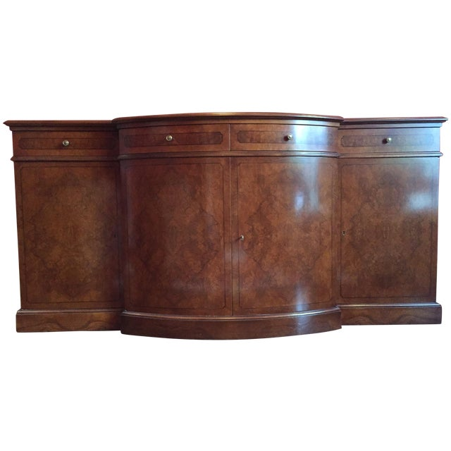 Francesco Molon Burled Wood Sideboard - Image 1 of 11