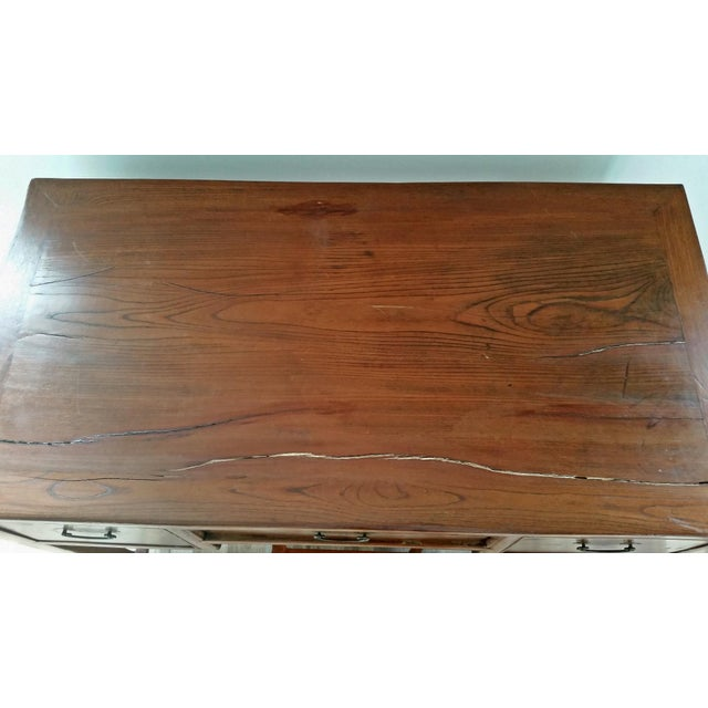 Antique Asian Writing Desk For Sale In West Palm - Image 6 of 11