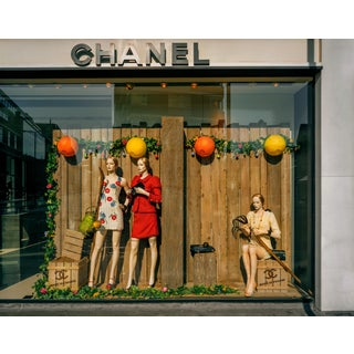"""""""Chanel 1, London"""" Contemporary Store Window Photograph by Guy Sargent For Sale"""