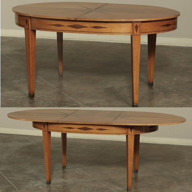 Mid-Century French Directoire Style Inlaid Table For Sale - Image 13 of 13