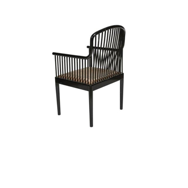 Final Markdown Davis Allen for Stendig Italy/Knoll International Ebonized Armchair - Image 2 of 3