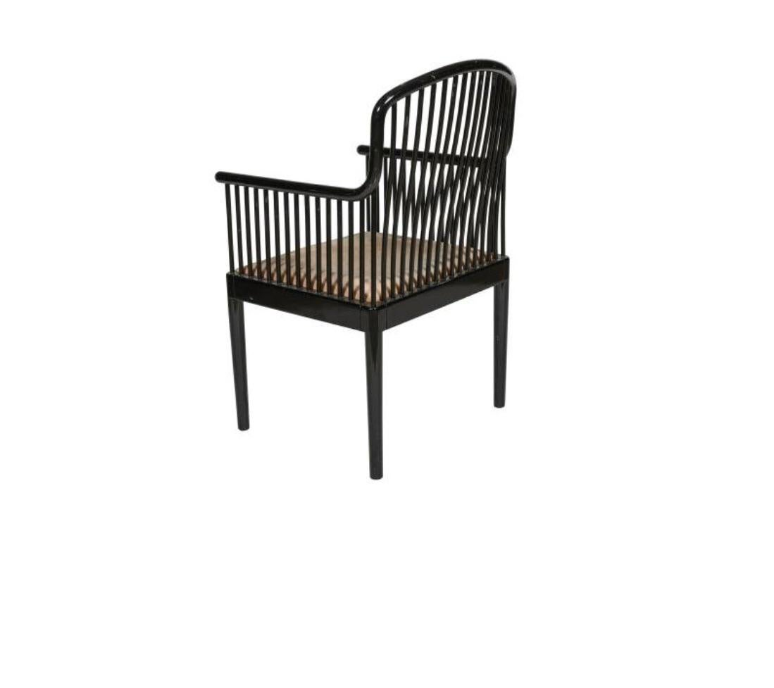 Final Markdown Davis Allen For Stendig Italy/Knoll International Ebonized  Armchair   Image 2 Of