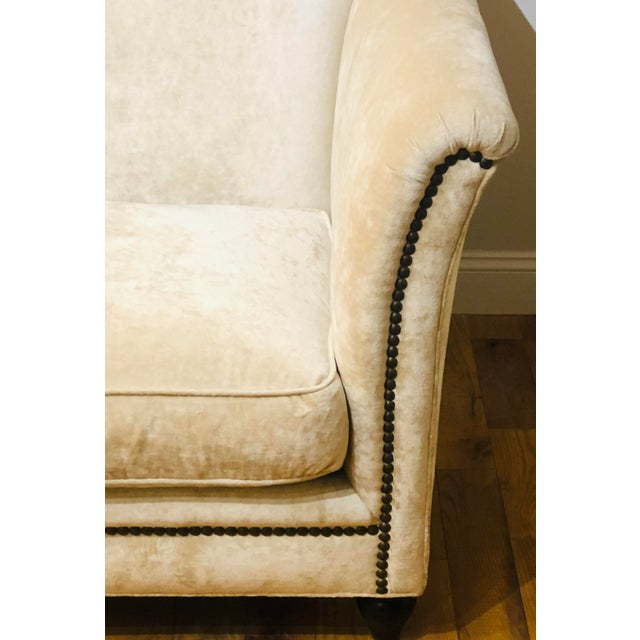 2000 - 2009 Dapha Upholstery Beige Sofa For Sale - Image 5 of 13