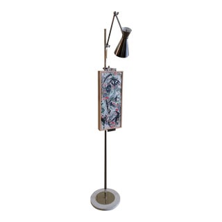 Floor Easel Lamp by Robert Abbey Design For Sale
