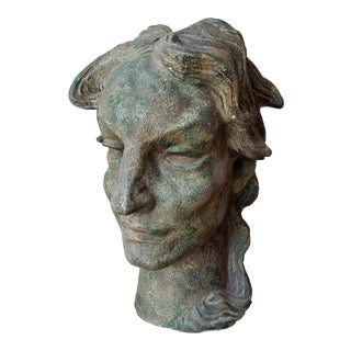 Walter Williams Circa 1920 Original Art Deco Bust For Sale