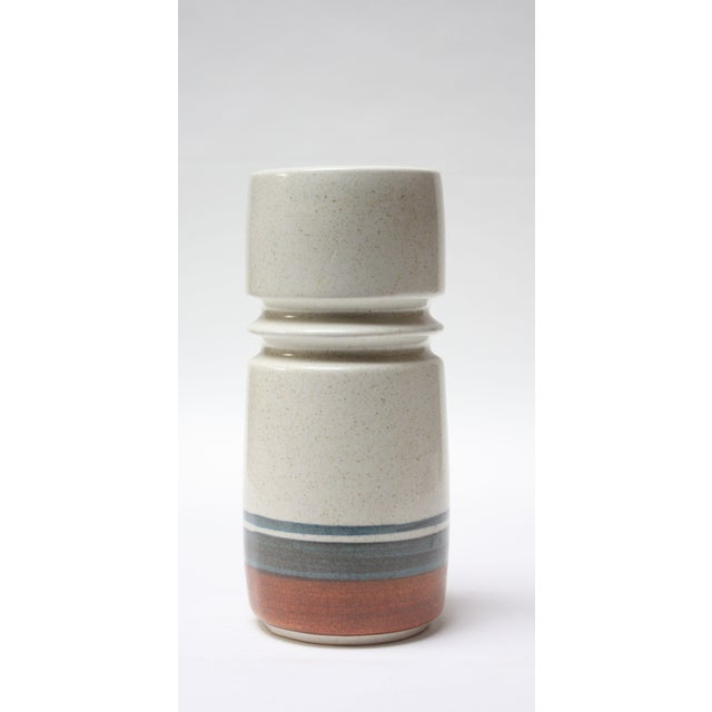 Mid Century Israeli Modern Large Stoneware Vase by Esther for Lapid For Sale - Image 11 of 11