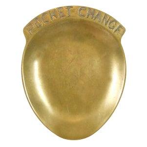 Brass Pocket Change Tray - Image 1 of 3