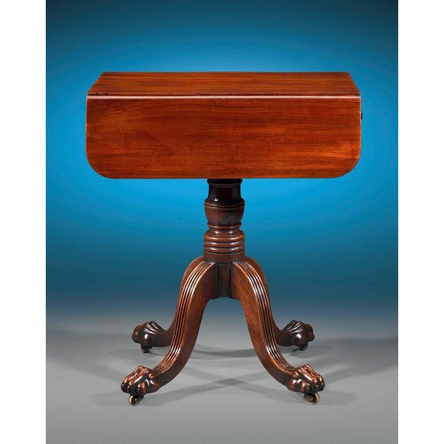 Mid 19th Century Regency-Period Pembroke Table For Sale - Image 5 of 6