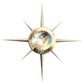 Star Flush Mount / Sconce by Fabio Ltd (2 Available) For Sale