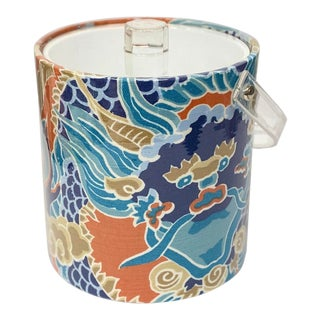 Thibaut Designs Imperial Dragon Ice Bucket For Sale