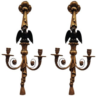 19th Century Giltwood Sconces - A Pair