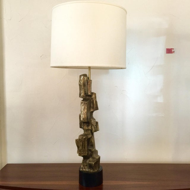 Maurizio Tempestini Brustalist Lamp - Image 3 of 10