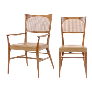 Rare Set of Six Paul McCobb Dining Chairs from The New England Collection For Sale