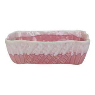 Pink Drip Glaze Planter For Sale