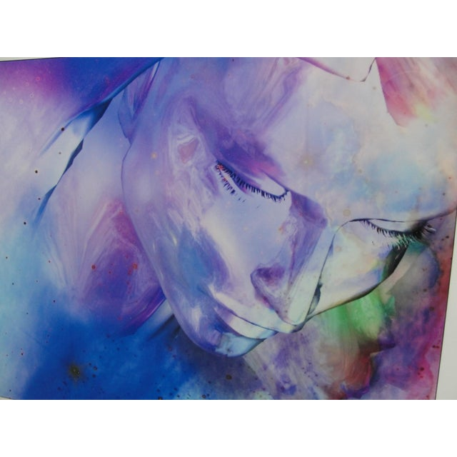 """Al Foxx Impressionist Limited Edition """"Woman"""" Print For Sale - Image 4 of 8"""