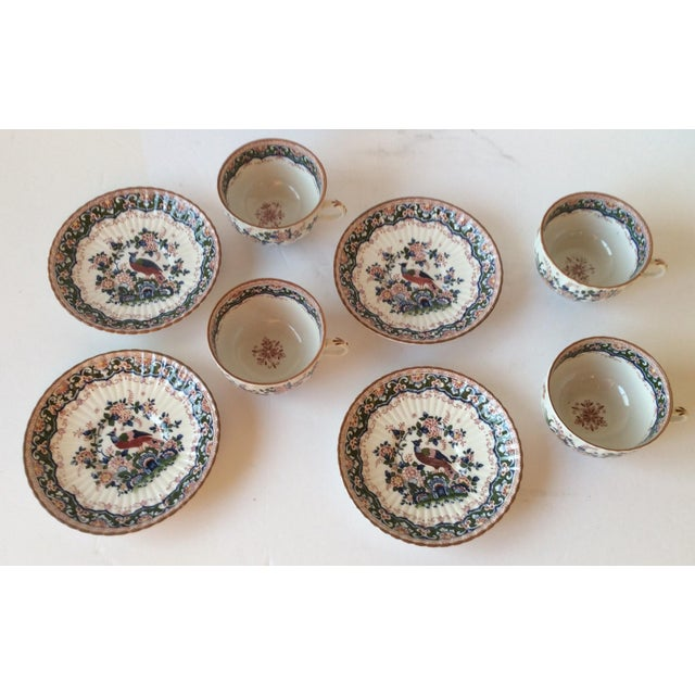 """Booths """"Old Dutch"""" Cup & Saucers - Set of 4 - Image 7 of 11"""