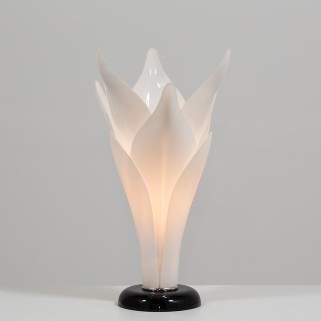 1970s Tulip Lamp Attributed to Rougier Late 1970s For Sale - Image 5 of 5