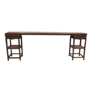 Antique Chinese Elm Console
