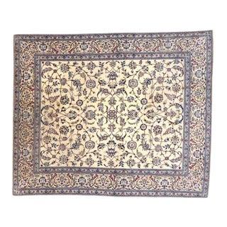 1990s Leon Banilivi Persian Nain Rug For Sale
