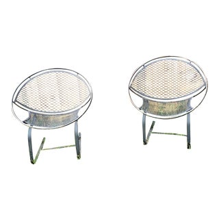 Maurizio Tempestini for Salterini Hoop Chair - a Pair For Sale