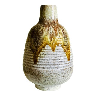 Alvino Bagni for Raymor Ceramic Glazed Vase For Sale